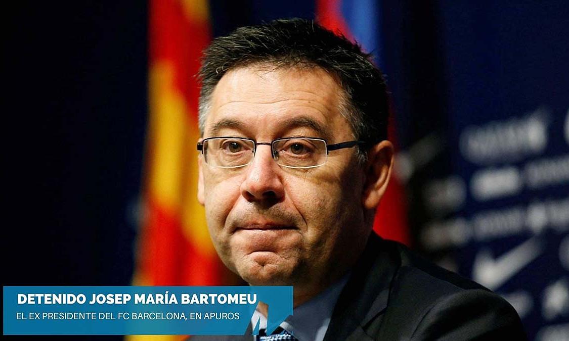 Bartomeu bị bắt vì nói xấu Pique, Messi, Joan Laporta hay Victor Font. Ảnh: La Mira