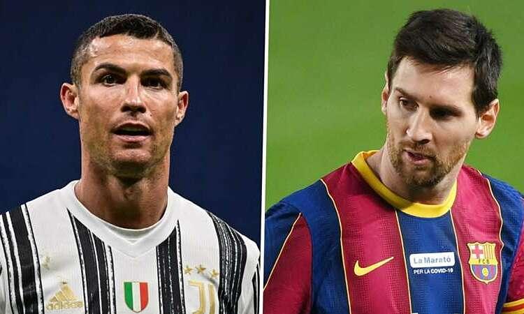 Ronaldo (kiri) dan Messi sama-sama ingin tinggal di AS di masa depan.  Foto: Sasaran
