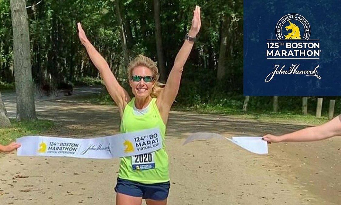 Mở giải chạy ảo cho 70.000 VĐV trên toàn thế giới là một hoạt động nhằm kỷ niệm 125 năm ra đời Boston Marathon. Ảnh: BAA