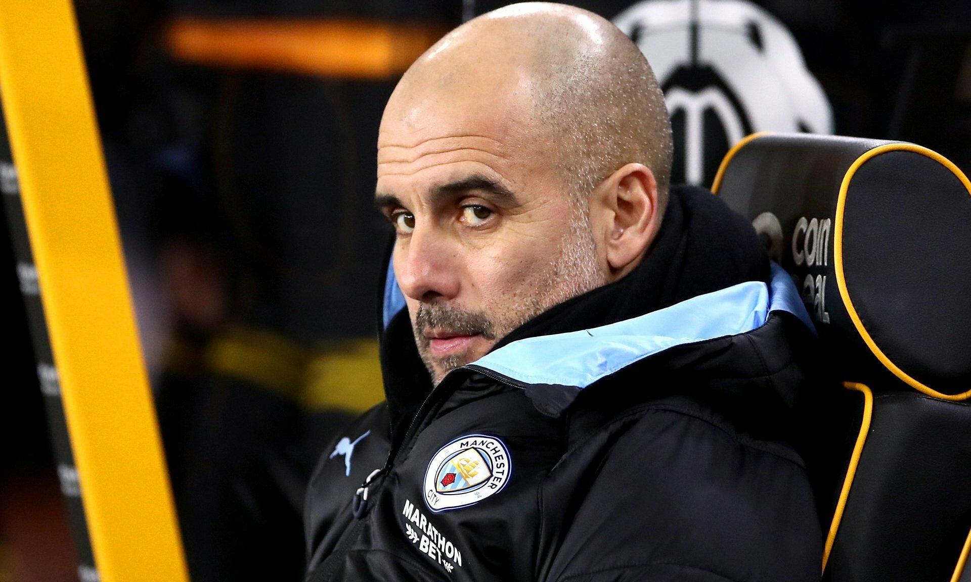 Guardiola không muốn các học trò bay bổng với kỷ lục 21 chiến thắngl liên tiếp mà xao nhãng khi đấu Man Utd cuối tuần này. Ảnh: MCFC