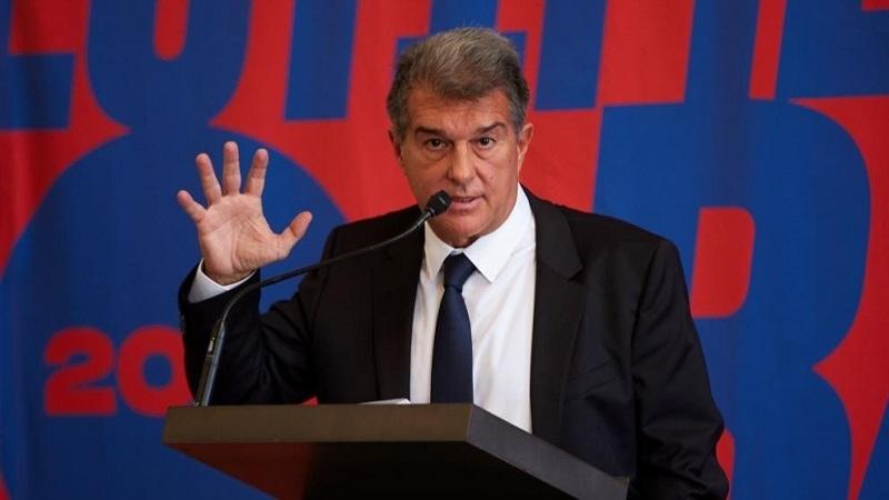 Laporta từng đưa Barca trở lại đỉnh cao trong giai đoạn 2003-2010. Ảnh: Reuters.