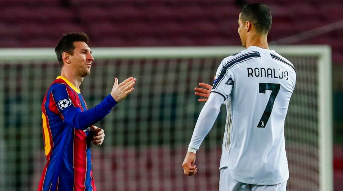 Messi dan Ronaldo telah mempertahankan performa mencetak gol yang konsisten selama lebih dari satu dekade.  Foto: Sasaran.