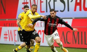 Milan 1-1 Udinese