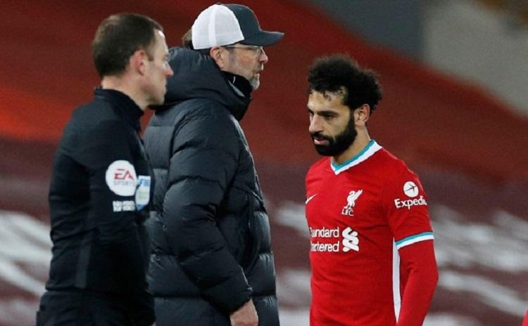 Salah là chân sút số một của Liverpool mùa này với 24 bàn, gồm 17 bàn ở Ngoại hạng Anh. Ảnh: Goal.
