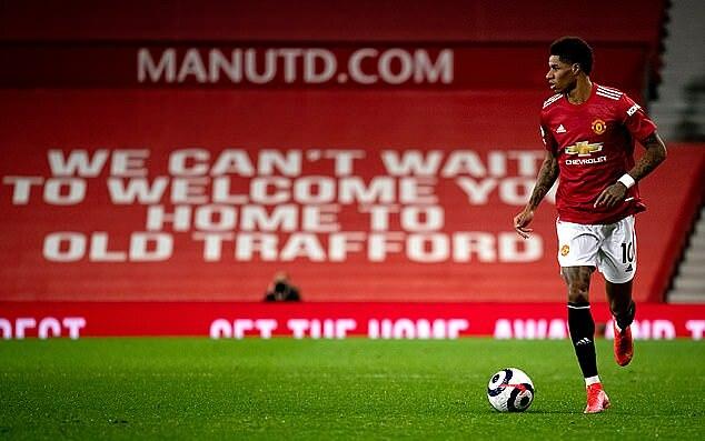 Gần một năm qua, Man Utd mất nguồn thu từ việc bán vé vào sân. Ảnh: MUFC.