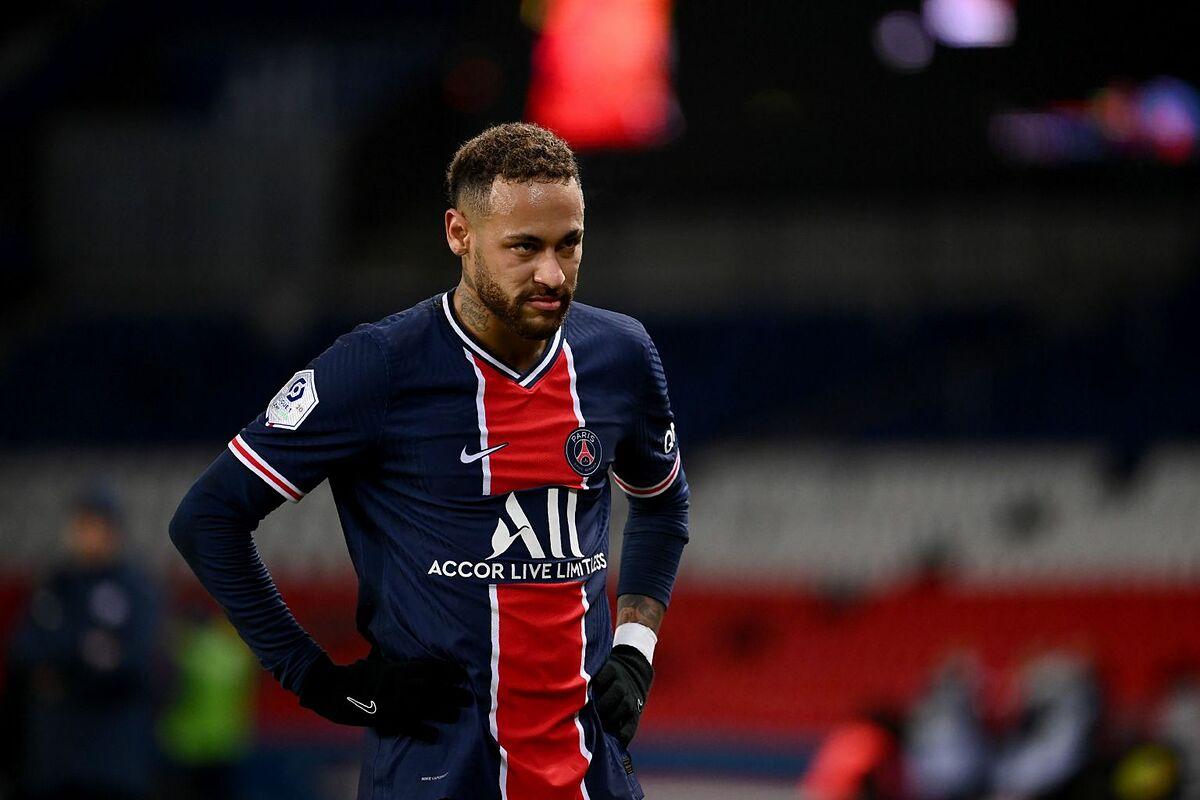 Dù vắng Neymar ở lượt đi vòng 1/8, PSG vẫn thắng 4-1 trên sân Barca. Ảnh: AFP.