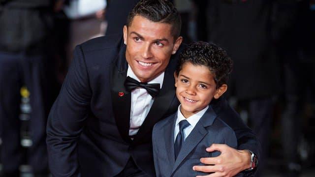 Ronaldo memiliki empat anak, di mana Cristiano Ronaldo Junior adalah yang tertua.  Foto: BFMTV