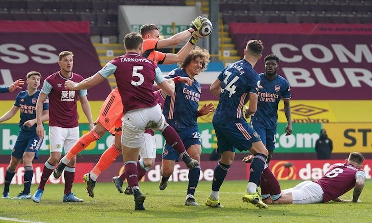 Burnley hoà trận thứ năm liên tiếp trên sân nhà. Ảnh: Reuters.