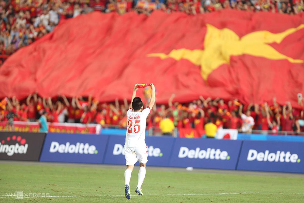 Vo Huy Toan ยังคงมีความหวังที่จะถูกเรียกกลับเข้าสู่ทีมชาติ  ภาพ: Duc Dong