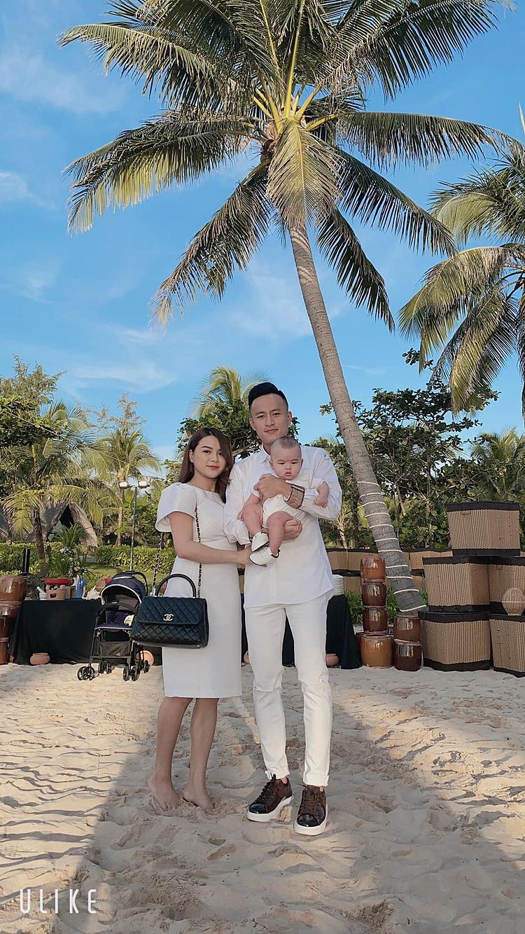 Vo Huy Toan กับภรรยาและลูก ๆ  ภาพ: NVCC.