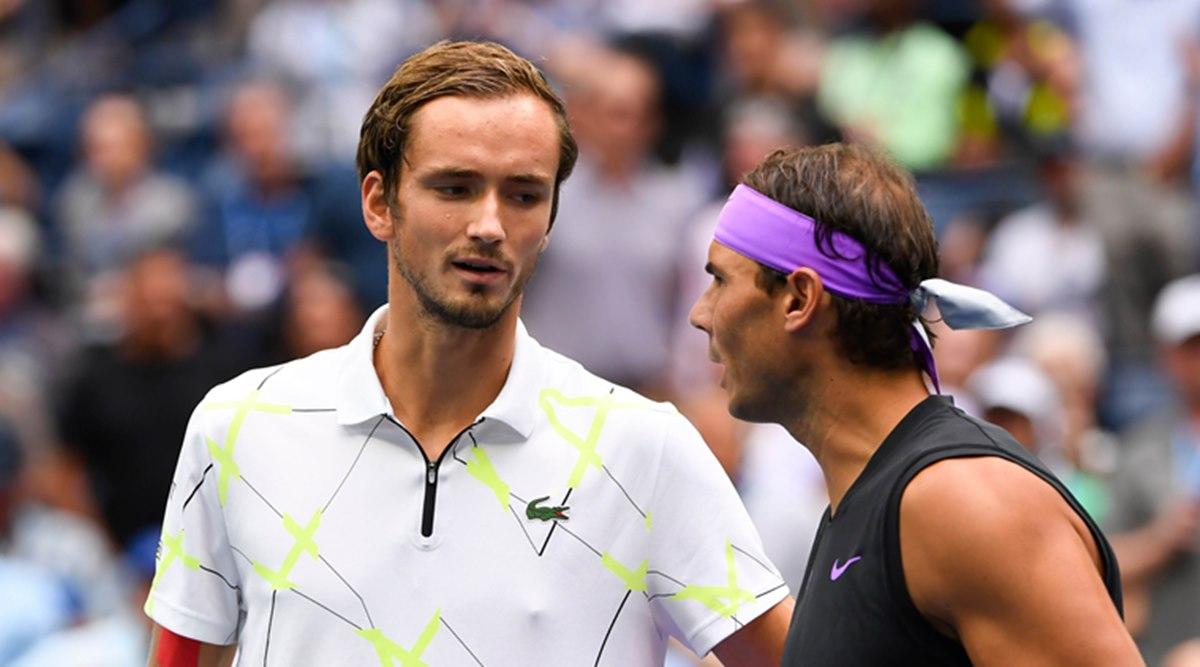 Medvedev meraih dua penghargaan berturut-turut setelah mencapai final Australia Terbuka, dan Nadal belum kembali.  Foto: ATP.