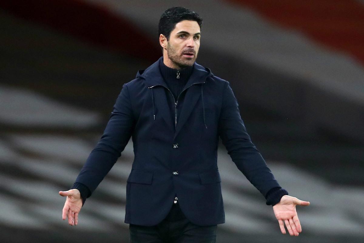 Arteta memiliki tingkat kemenangan 52% sejak memimpin Arsenal pada Desember 2019.  Foto: Sasaran.