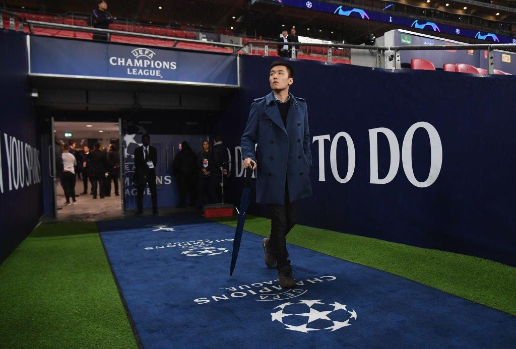 Di bawah kepemimpinan Steven Zhang dan investasi dari perusahaan ayahnya, Inter kembali ke Liga Champions.  Foto: Inter.it