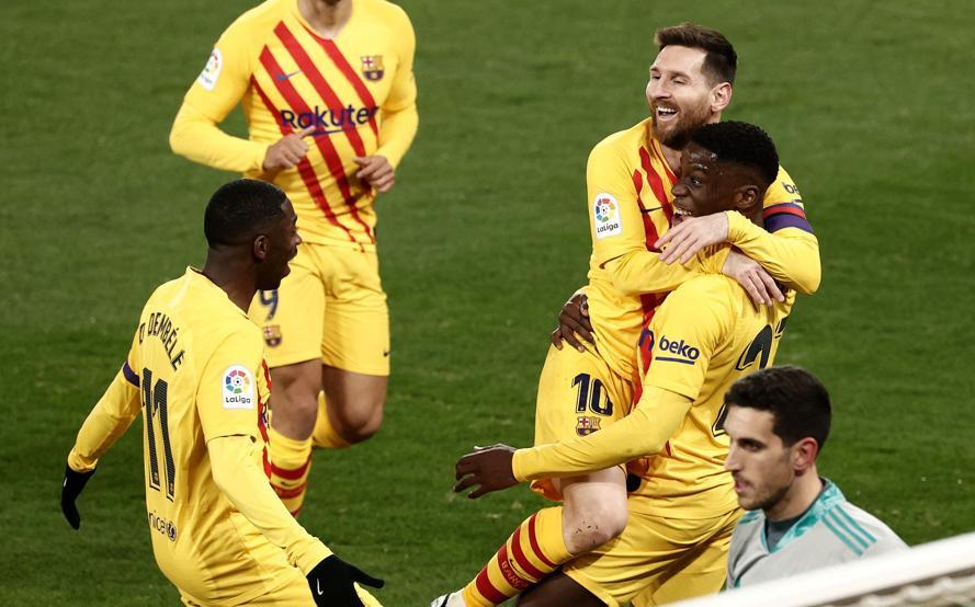 Gelandang berusia 18 tahun Moriba bersinar setelah memberikan assist dari Messi.