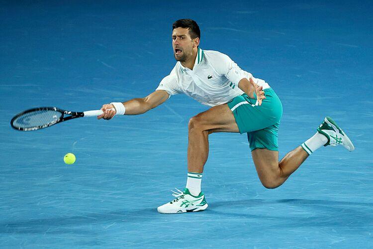 Djokovic memenangkan 59 gelar utama, termasuk Grand Slam, Olimpiade, ATP Finals dan Masters 1000, lebih banyak dari pemain lainnya.  Foto: Australianopen.