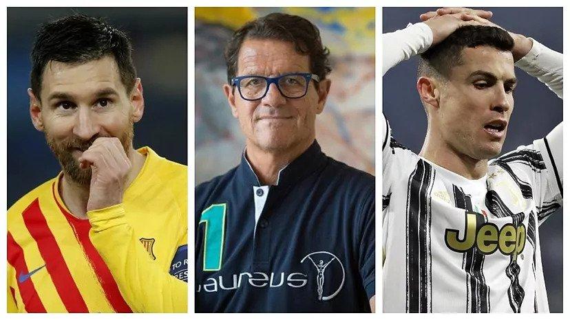 คาเปลโล่ให้ความสำคัญกับเมสซี่ (ซ้าย) มากกว่าโรนัลโด้อีกครั้ง  ภาพ: Marca