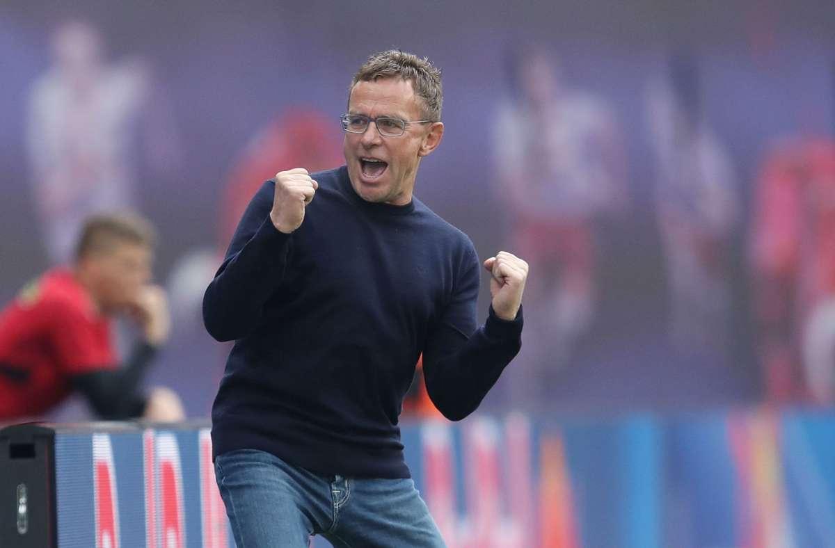 Rangnick ยังคงเป็นผู้จัดการของ RB Salzburg  ภาพ: AFP
