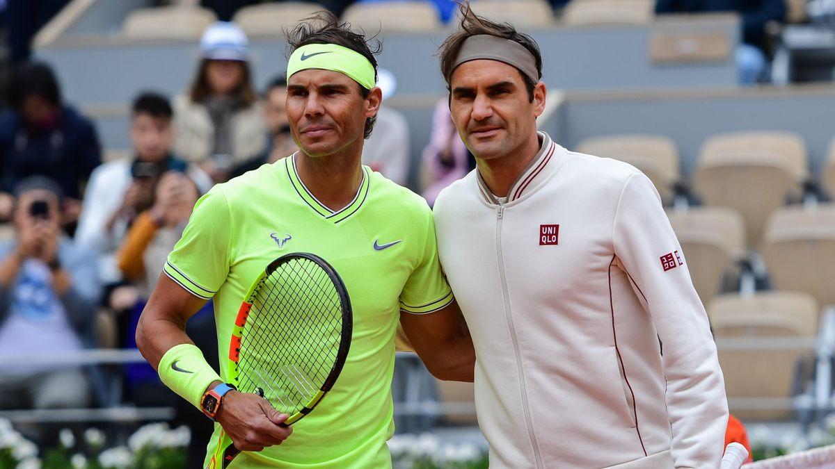 Nadal dan Federer memegang rekor 20 Grand Slam yang sama.  Foto: ATP.
