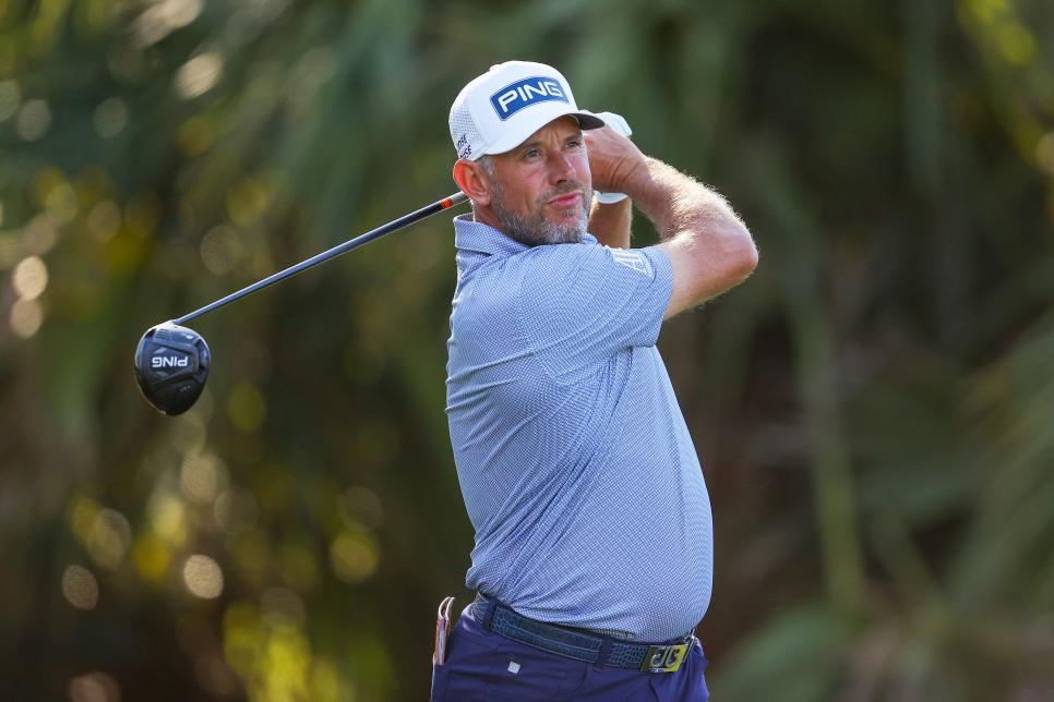 Westwood played in the second round of The Players Championship at TPC Sawgrass on March 12.  Photo: GD.