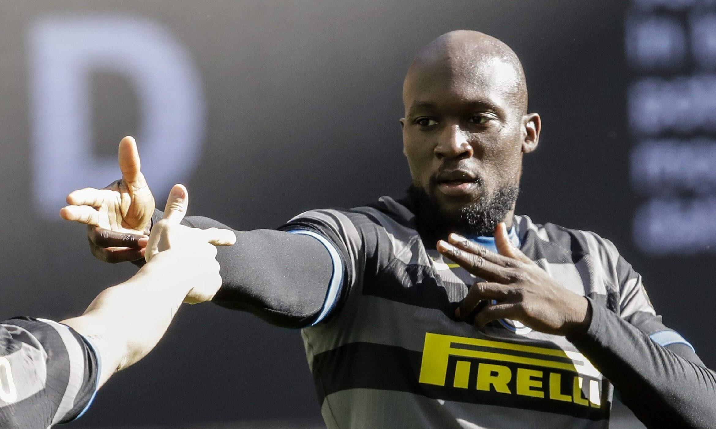 Lukaku là nguồn cảm hứng giúp Inter vươn lên dẫn đầu đường đua scudetto. Ảnh: Lapresse