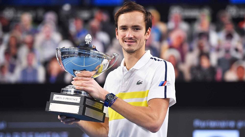 Medvedev hanya kekurangan Grand Slam dalam koleksi gelar ATP.  Foto: ATP.