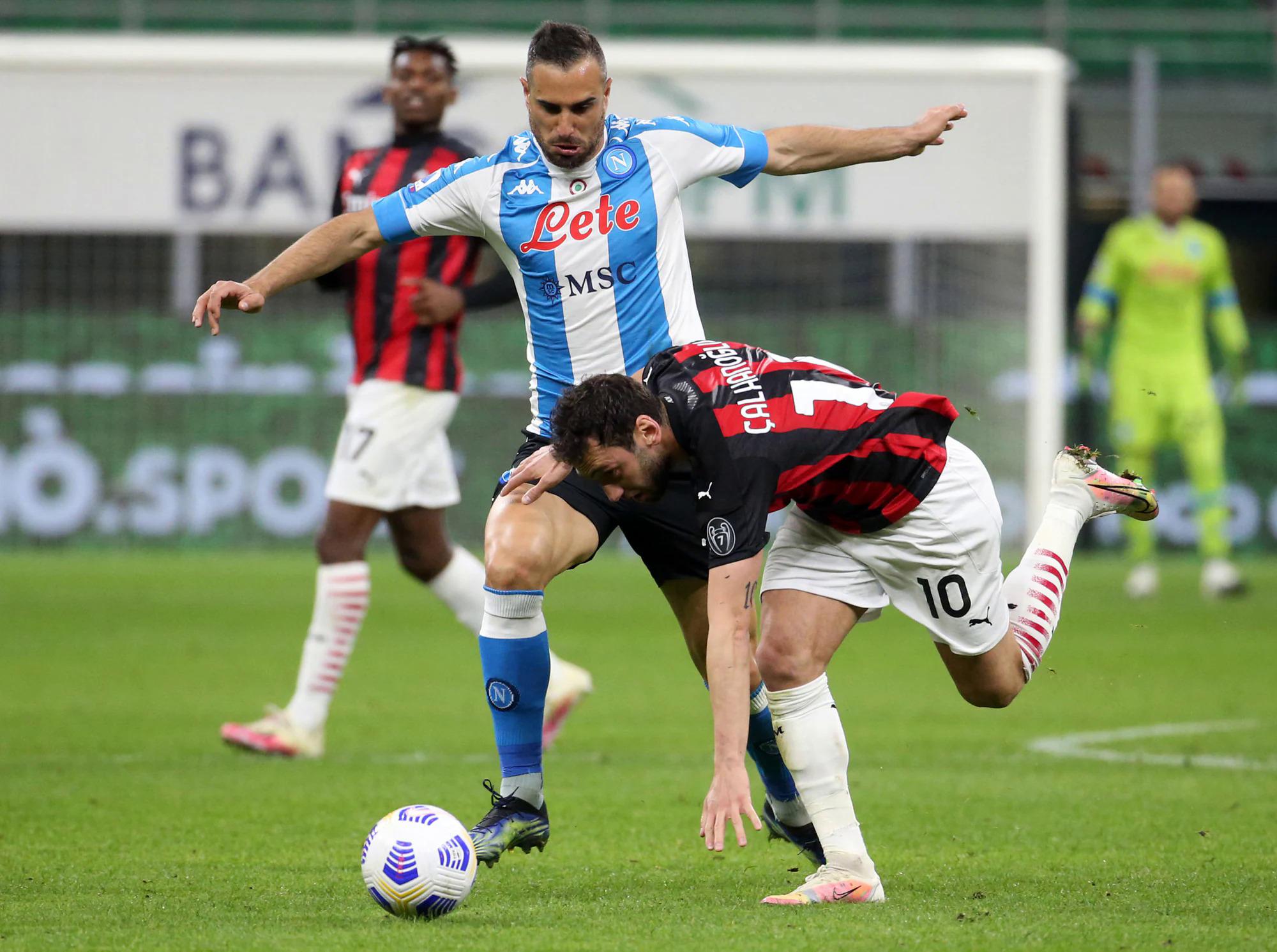 Kegagalan di kandang menyebabkan Milan ketinggalan dalam perburuan scudetto.  Foto: ANSA