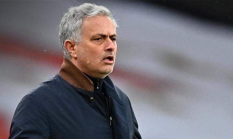 Tottenham của Mourinho vẫn chưa chứng tỏ được vị thế ứng cử viên vô địch như kỳ vọng. Ảnh: AFP
