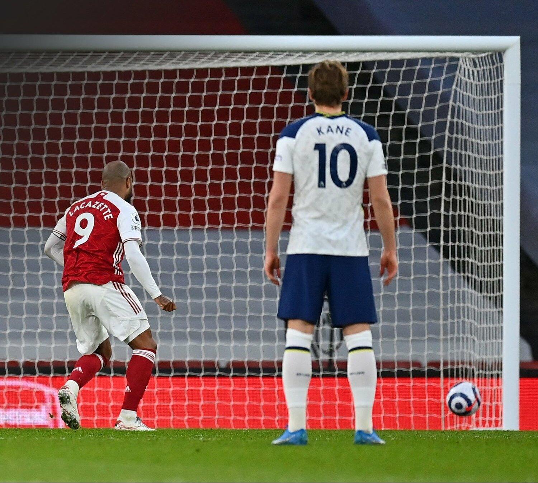 Tottenham thua bàn thứ bảy từ penalty mùa này. Ảnh: Opta.