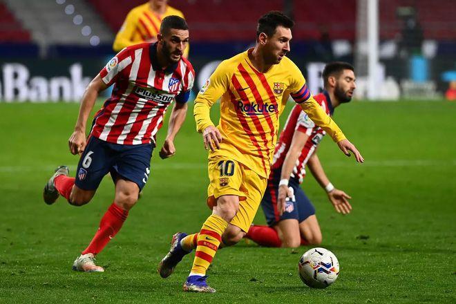Atletico không còn là rào cản lớn đến mức không thể vượt qua. Ảnh: Reuters.