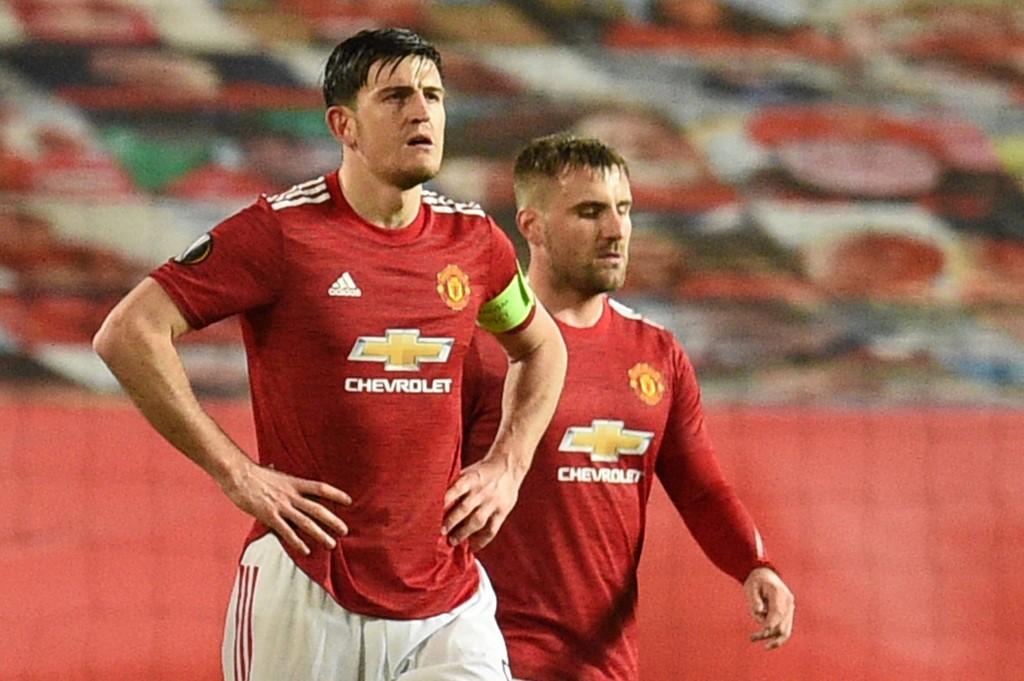 Solskajer พิจารณาว่า Maguire ตะโกนใส่เพื่อนร่วมทีมของเขาในสนามซึ่งเป็นส่วนหนึ่งของงานของกัปตันทีม Man Utd  ภาพ: AFP