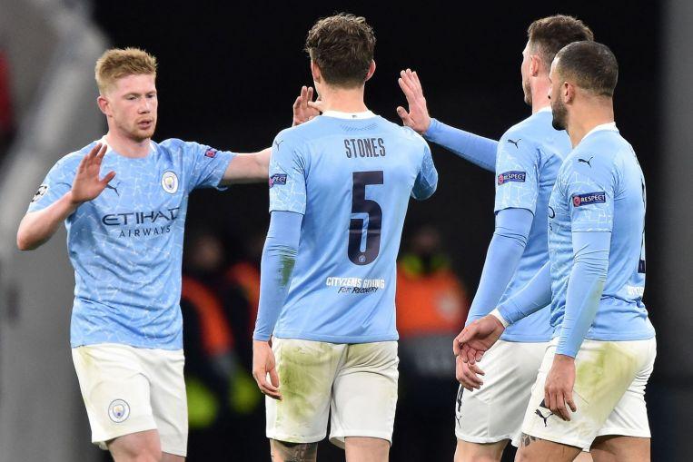 Pengerjaan yang komprehensif membawa keuntungan bagi Man City musim ini.  Foto: Reuters.