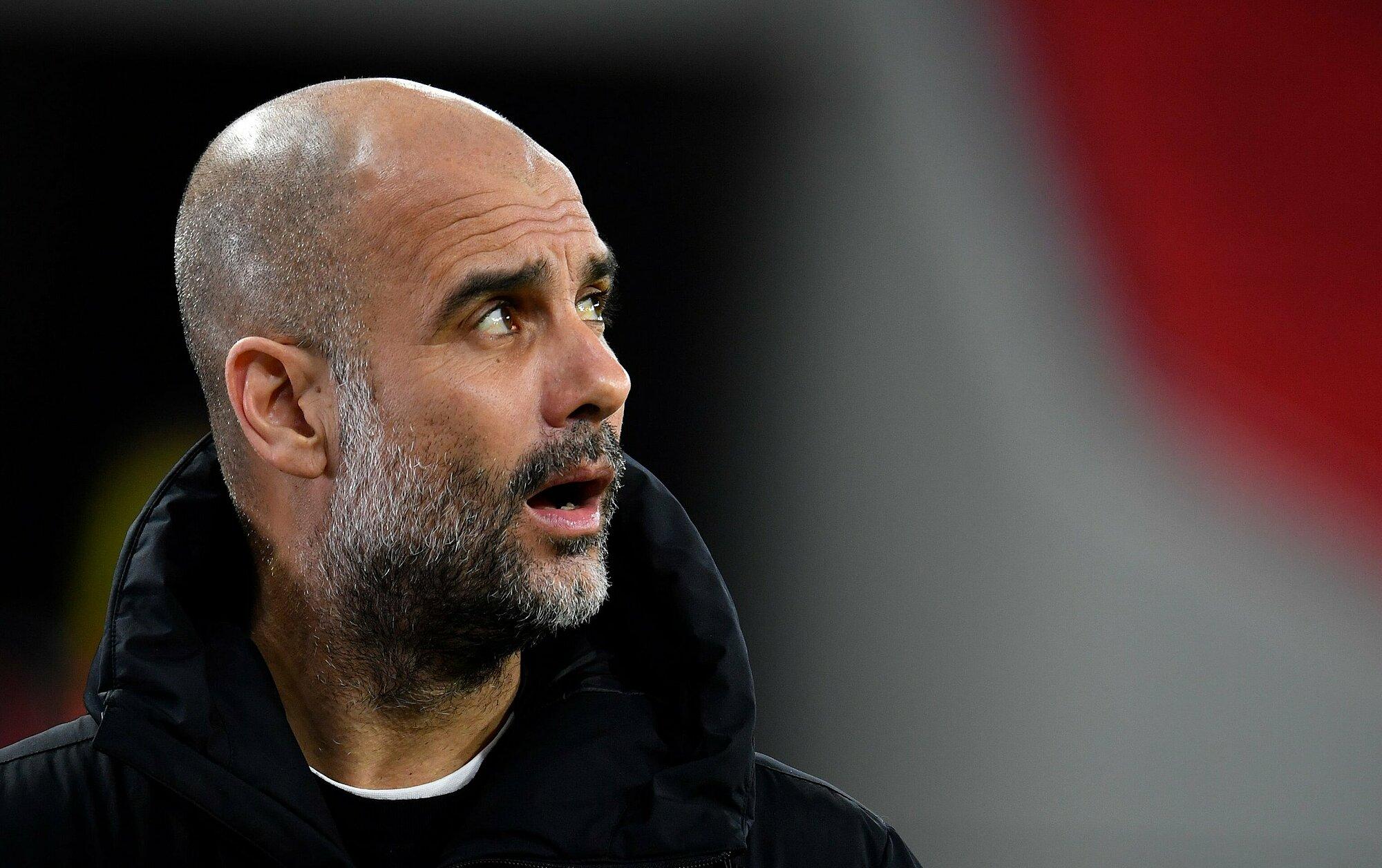 Guardiola đang có cơ hội viết tiếp nhiều cột mốc quan trọng nữa trong sự nghiệp cầm quân với Man City. Ảnh: AFP