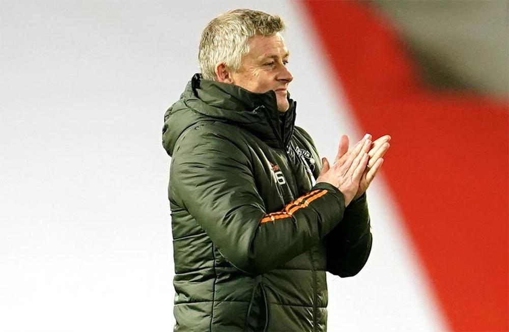 Solskjaer belum memenangkan gelar dalam lebih dari dua tahun memimpin Man Utd.  Foto: Reuters.