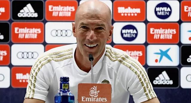 Zidane dan Real kembali ke perempat final Liga Champions setelah dua musim absen.  Foto: RM.