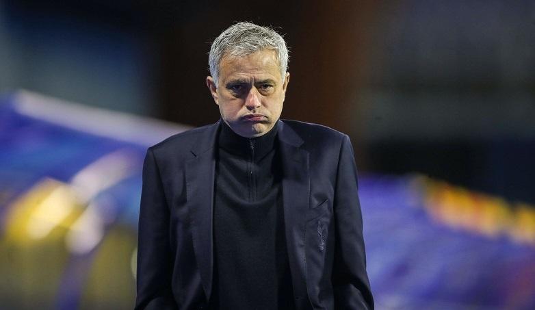 Mourinho dẫn dắt Tottenham từ tháng 11/2019 nhưng chỉ đạt tỷ lệ thắng 52%, thấp nhất từ 2002. Ảnh: Goal.