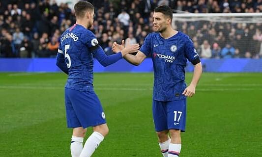 Jorginho saat ini masuk dalam 10 besar pemain awal Chelsea yang paling produktif musim ini, bersama dengan Kovacic dan Kante.  Foto: Reuters.