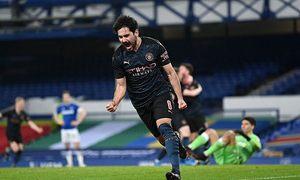 Everton 0-2 Man City