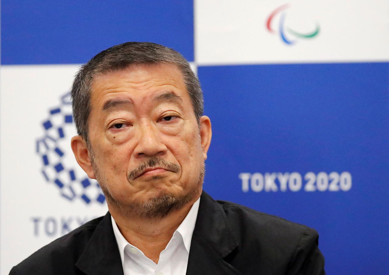 Mr. Sasaki during a press conference in Tokyo on July 31, 2018.  Photo: Reuters