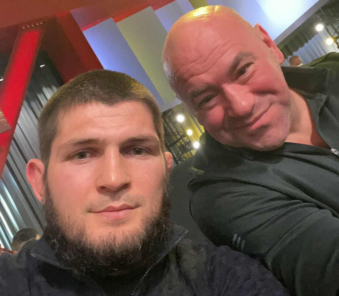 Khabib and White are best friends.