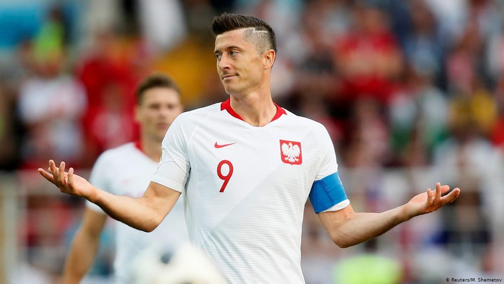 Lewandowski adalah harapan nomor satu Polandia di kualifikasi Piala Dunia 2022. Inggris memegang rekor pencetak gol tim ini dengan 63 gol.  Foto: Reuters