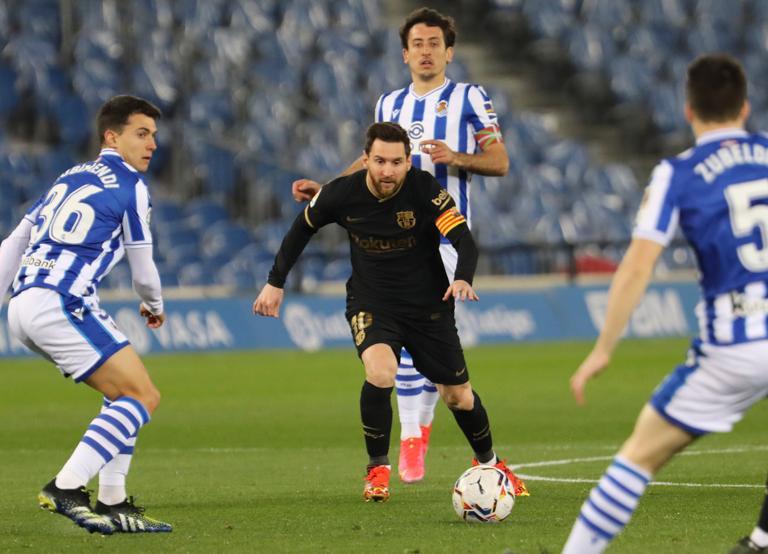 Messi đóng vai trò linh hồn trong chiến thắng đậm của Barca. Ảnh: Mundo Deportivo.