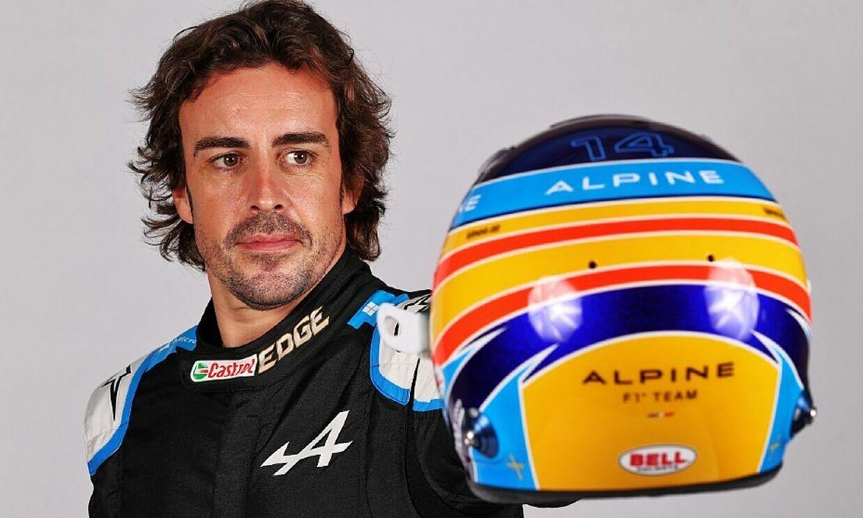 Alonso kembali ke F1 setelah dua musim absen, namun ia tidak berharap terlalu banyak karena Alpine bukanlah tim terbaik.  Foto: Marca