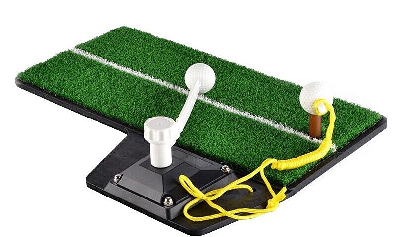 Matras latihan mini bisa menjadi solusi bagi mahasiswa jika belajar golf di Perguruan Tinggi.