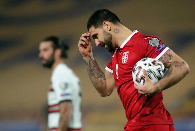 Serbia menunjukkan keberanian setelah dipimpin dua gol.