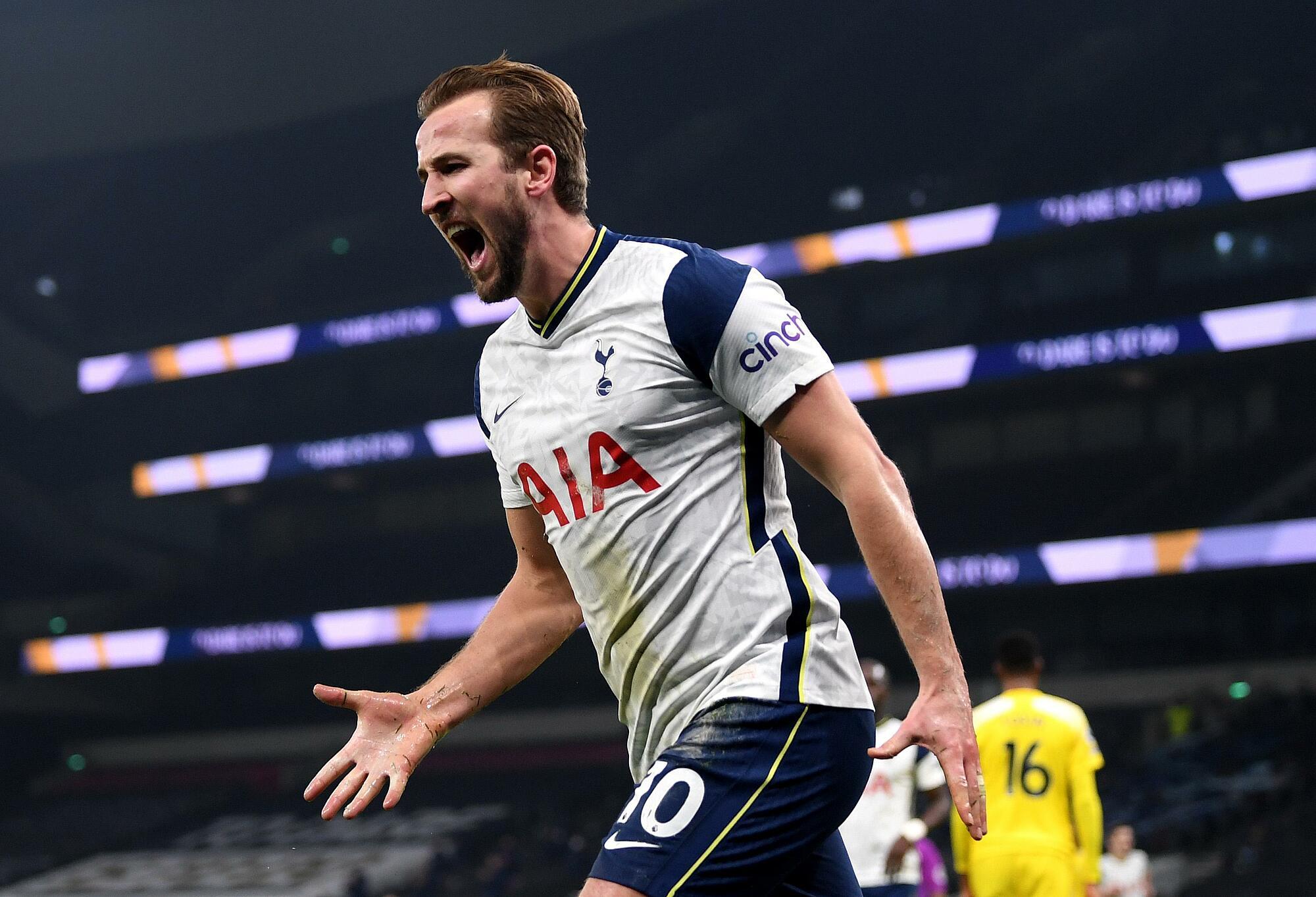 Kane adalah inspirasi nomor satu Tottenham.  Foto: AFP