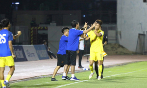 Sài Gòn 0-3 Nam Định