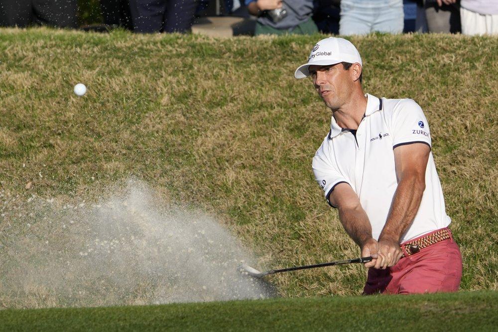 Horschel did not start well in the final, but still won against Scheffer.  Photo: AP