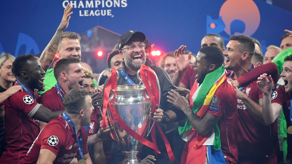 Liverpool adalah perwakilan Inggris terbaru yang memenangkan Liga Champions.  Foto: Rueters