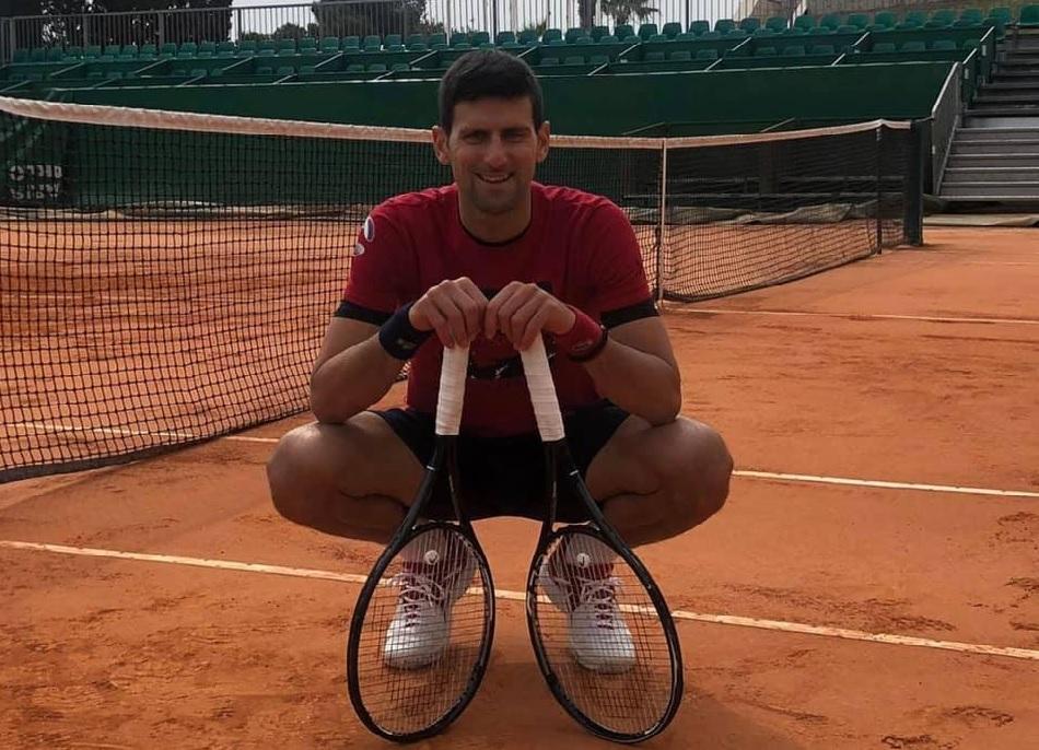 Monte Carlo Masters sẽ là giải thứ hai Djokovic tham dự trong năm 2021. Ảnh: ATP.