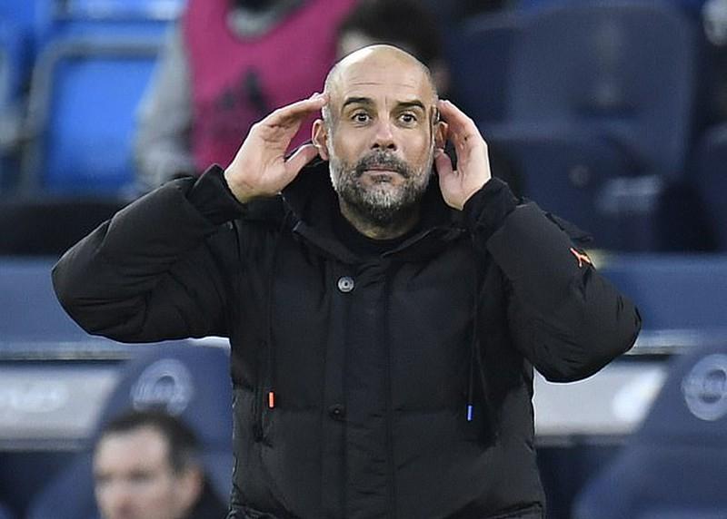 Pasukan Guardiola telah mencetak 64 gol dalam 30 pertandingan Liga Premier musim ini.  Foto: Reuters.
